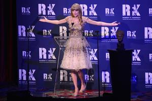 Taylor Swift Ripple of Hope Gala at The New York Marriott Marquis March 12, 2012