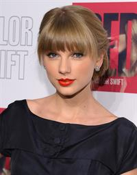 Taylor Swift Red Delue Edition CD launch party in New York - October 22, 2012