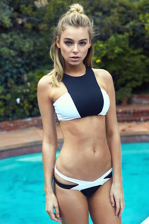 Elizabeth Turner in a bikini
