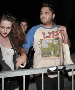 Kristen Stewart - Florence and the Machine concert Los Angeles 10/7/12