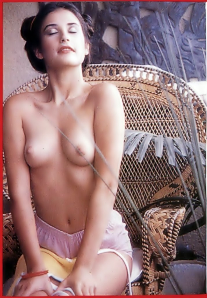 Demi Moore - breasts