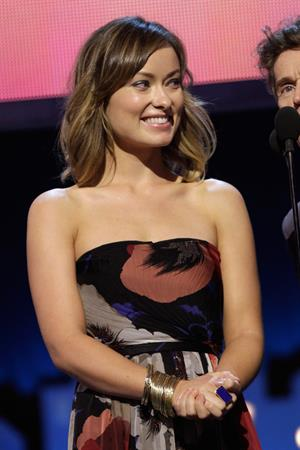 Olivia Wilde at the 2012 Film Independent Spirit Awards in Santa Monica February 25, 2012