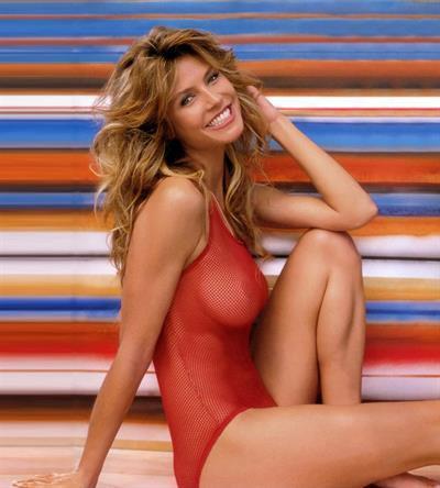Heidi Klum in lingerie - breasts
