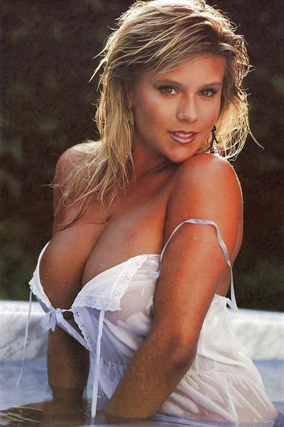 Samantha Fox in lingerie