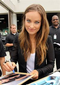Olivia Wilde at Tron Legacy Panel Comic Con 2010 at San Diego Convention Center July 22, 2010