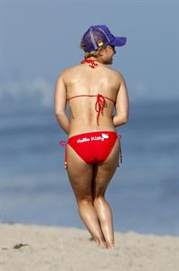 Hayden Panettiere in a bikini - ass