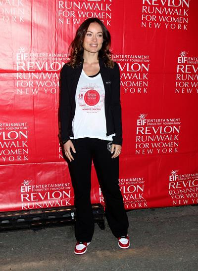 Olivia Wilde at Revlon Run/Walk For Women in New York City - May 4, 2013