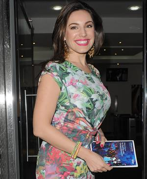Kelly Brook Chickenshed Charity Showcase - London, April, 16, 2013