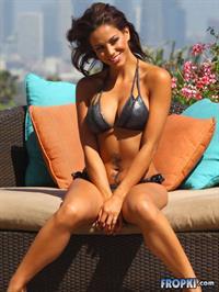Melissa Riso in a bikini