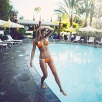 Marisa Papen in a bikini