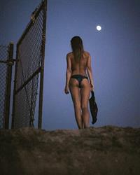 Marisa Papen in a bikini - ass