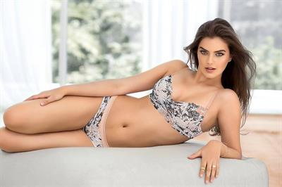 Caitlin Ricketts in lingerie