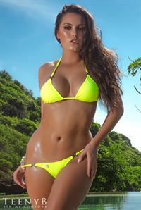 Constance Nunes in a bikini