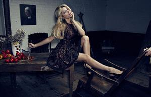 Kelly Brook - Barnaby Wilshier Photoshoot for Fabulous Magazine, February 2013