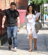 Kelly Brook - On the set of her brand new movie Taking Stock in London (05.07.2013)