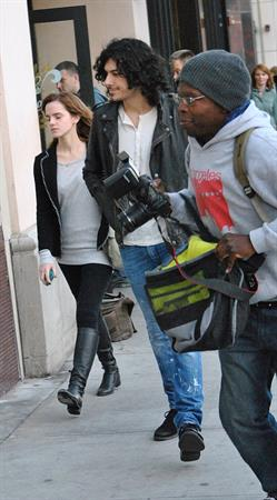 Emma Watson Out and about in Beverly Hills 12.02.13