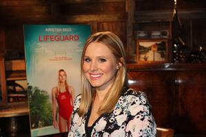 Kristen Bell The Lifeguard press day in West Hollywood - August 5, 2013