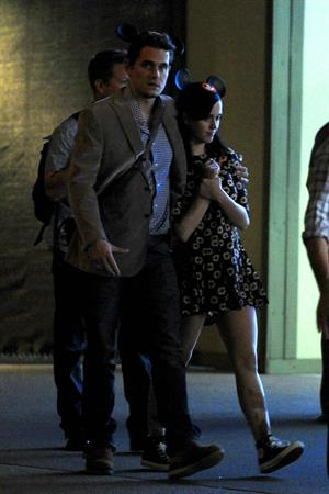 Katy Perry – candids at Disneyland in Anahiem 10/7/13