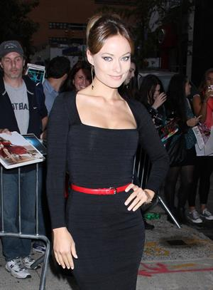 Olivia Wilde at the Daily Show with John Stewart in New York - September 26, 2012