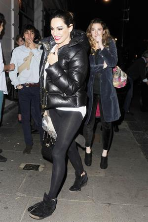 Kelly Brook at Crazy Horse in London 11/16/12