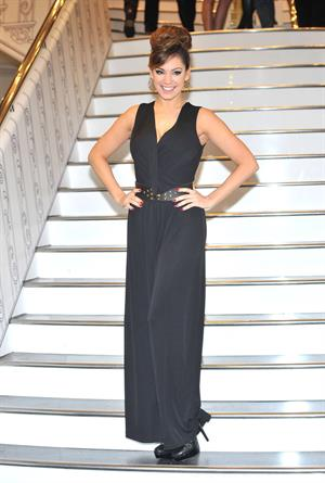 Kelly Brook New Look's brand new concept store opening in London 11/9/12