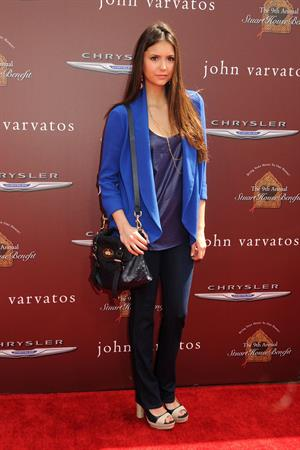Nina Dobrev at John Varvatos 9th annual Stuart House Benefit November 3, 2012
