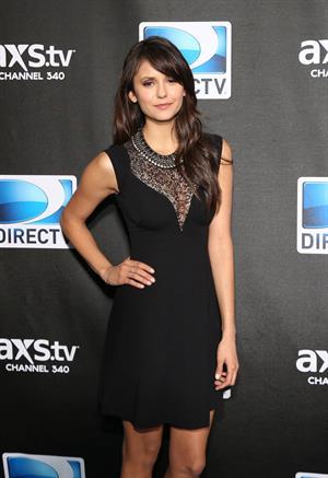 Nina Dobrev DIRECTV Super Saturday Night, Feb 2, 2013