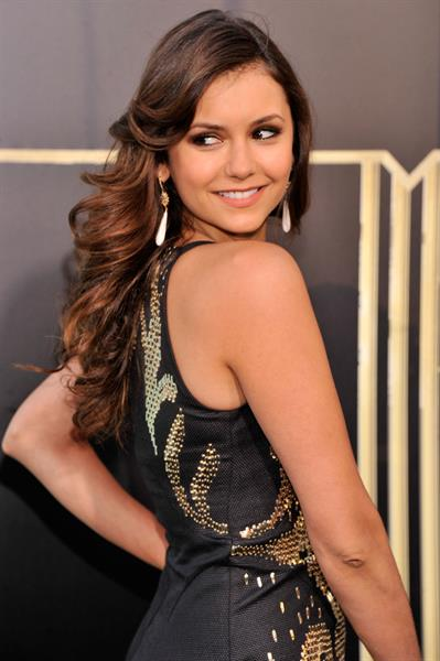 Nina Dobrev 'The Great Gatsby' premiere in New York City 5/1/13