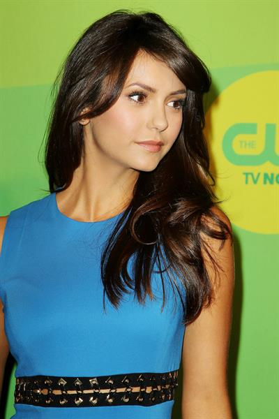 Nina Dobrev attending the CW's Upfront presentation at New York City Center in New York City on May 16, 2013