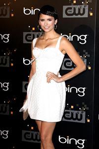 Nina Dobrev the CW Premiere Party at Warner Bros Studios on September 10, 2011
