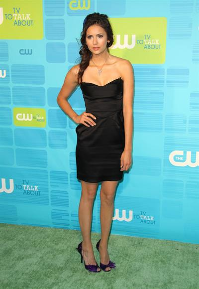 Nina Dobrev the CW Network upfront at Madison Square Garden on May 20, 2010