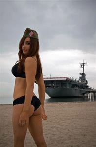 Anonymous in a bikini - ass