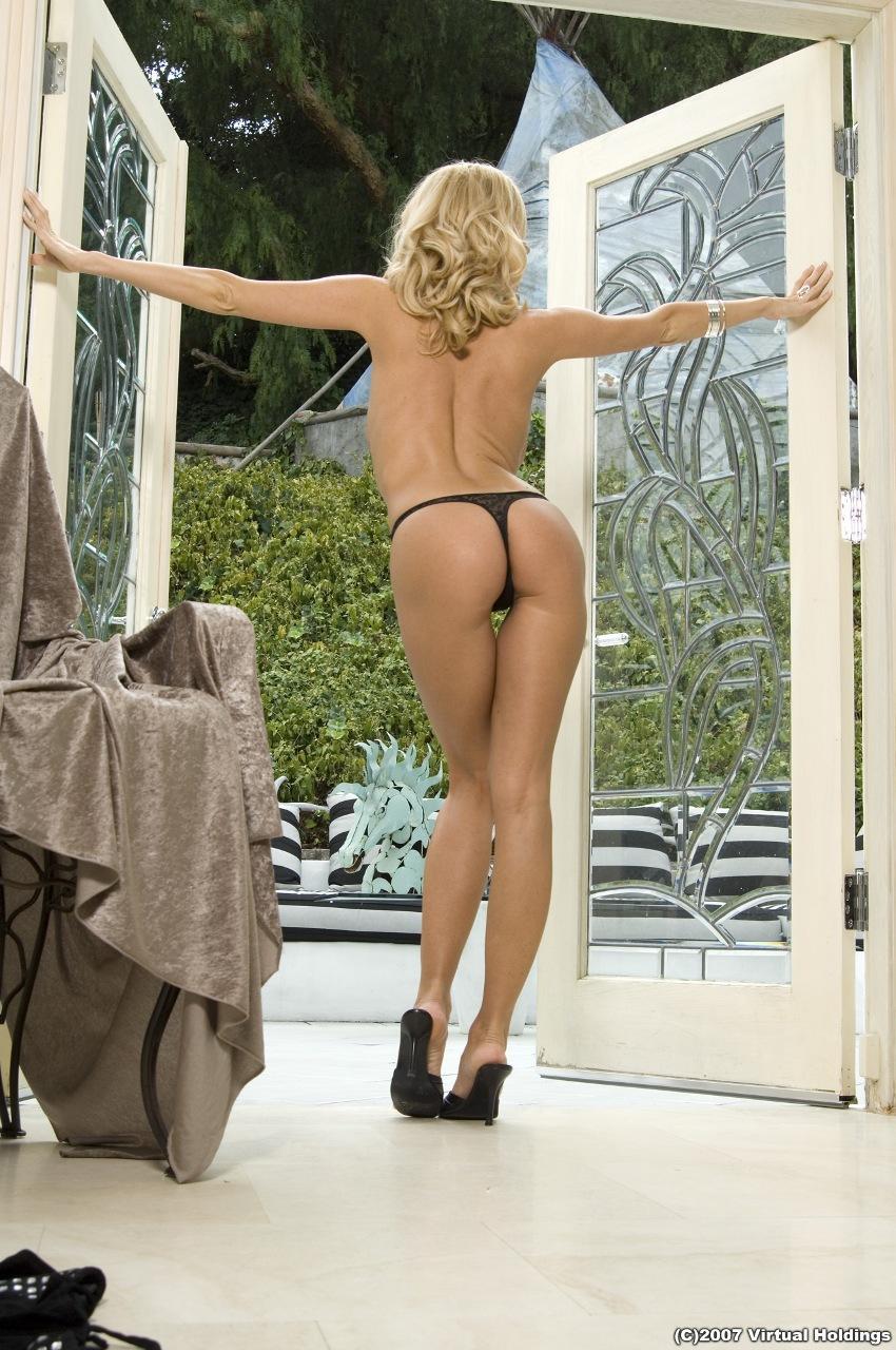 Anita Dark in lingerie - ass