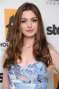 Anne Hathaway 15th annual Hollywood Film Awards Gala October 24, 2011