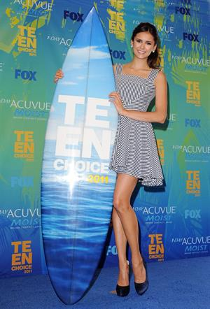 Nina Dobrev Teen Choice Awards 2011, 7-8-11