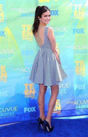Nina Dobrev Teen Choice Awards 2011, 7-8-11