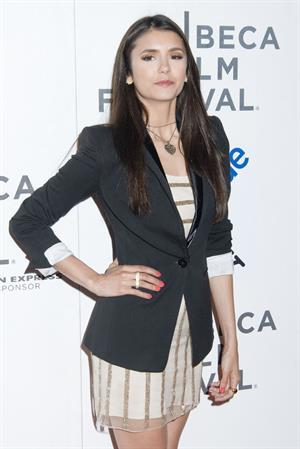 Nina Dobrev premiere of Last Night during the 2011 Tribeca Film Festival April 25, 2011