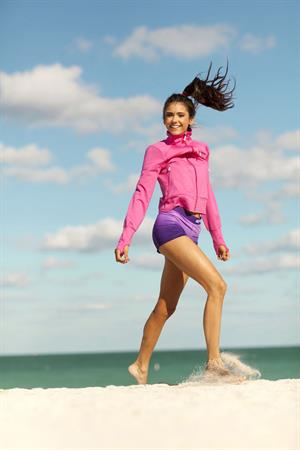 Nina Dobrev Seventeen Fitness May 2011