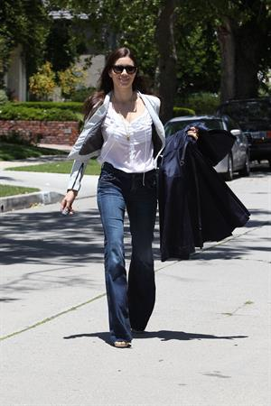 Jessica Biel out and about in Hollywood 010611