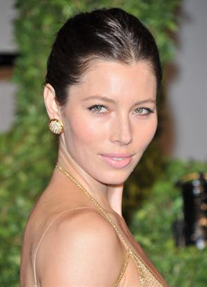 Jessica Biel Vanity Fair Oscar Party February 27, 2011