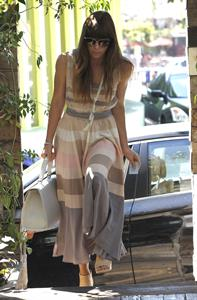 Jessica Biel - West Hollywood - September 15, 2012