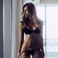 Livia Gullo in a bikini