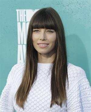 Jessica Biel at 2012 MTV Movie Awards, Los Angeles, June 3, 2012