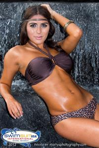 Erika Cavazos in a bikini