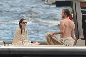 Anne Hathaway on vacation in Italy July 22, 2011