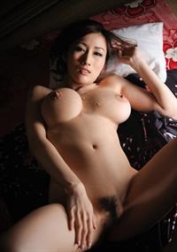 Julia Kyoka - pussy and nipples