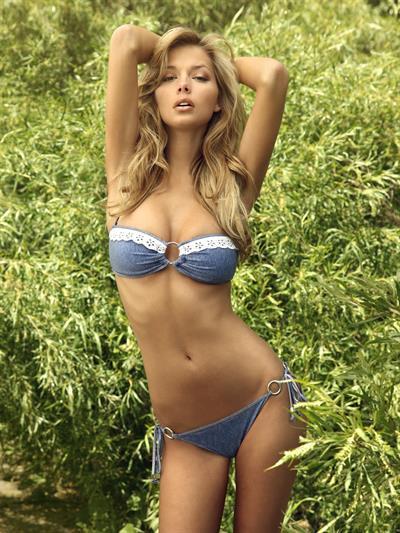 Danielle Knudson in a bikini