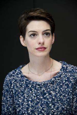 Anne Hathaway Photocall of the musical Les Miserables at the Mandarin Hotel in New York, NY, December 2, 2012