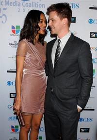 Zoe Saldana  14th Annual NHMC Impact Awards -- Beverly Hills, Feb. 25, 2011