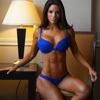 Michelle Lewin in lingerie